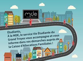 Partenariat CAF/TCM à la MDE