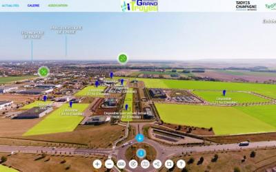 Visite virtuelle du Parc du Grand Troyes