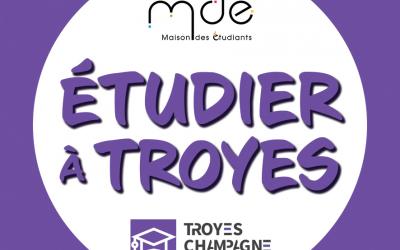 Lancement de l'Instagram : Etudier à Troyes