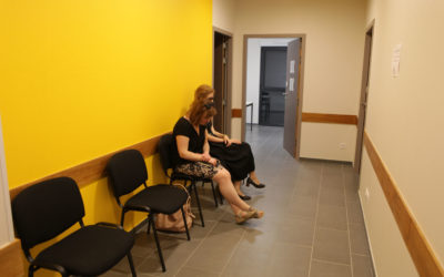Maison médicale d'Estissac (salle d'attente)