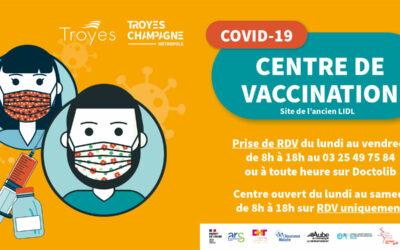 Lancement de la vaccination